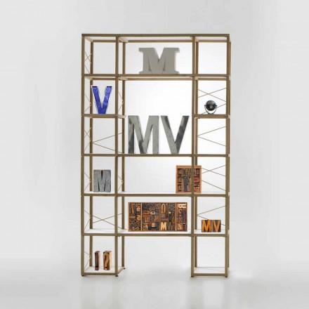 Bücherregal modular in modernem Design Zia Babele I Castelli 10