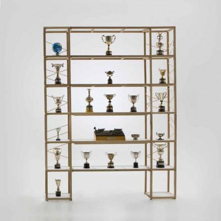 Bücherregal modular in modernem Design Zia Babele I Castelli 11