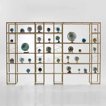 Bücherregal modular in modernem Design Zia Babele I Castelli 14